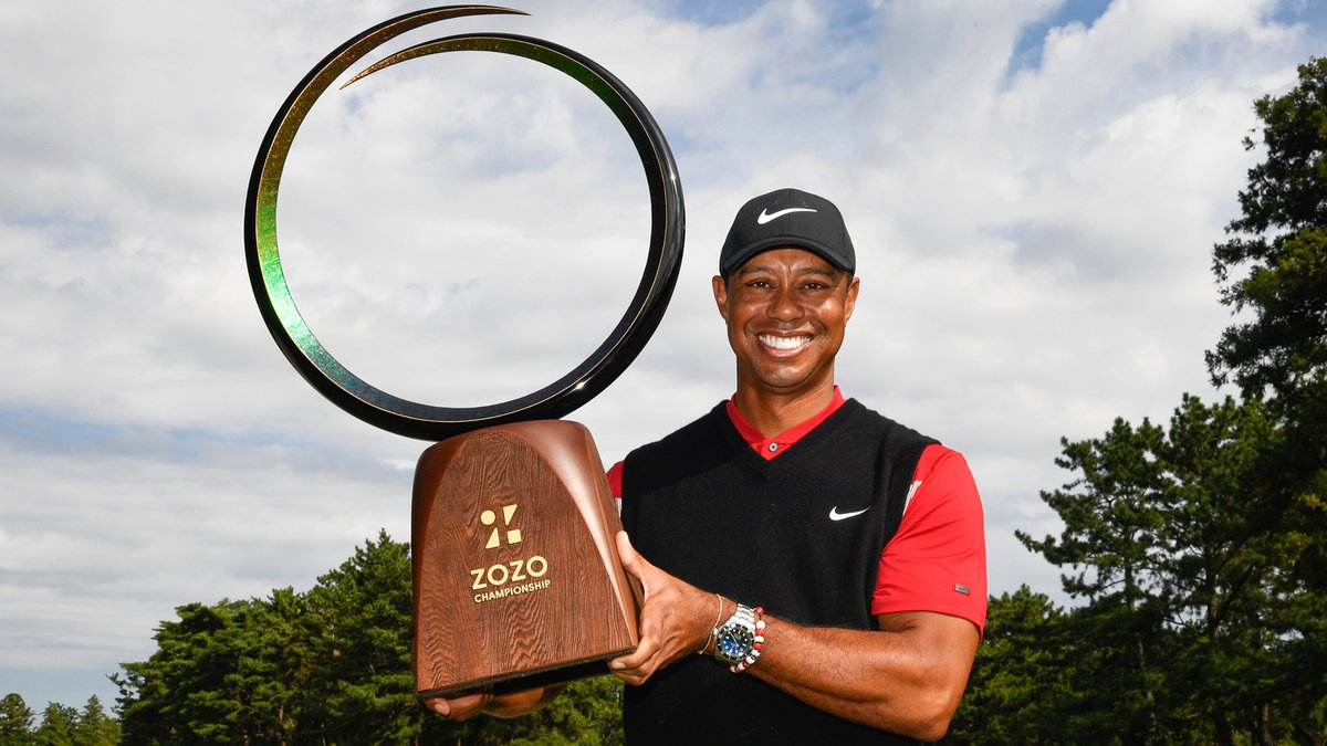 Tiger Woods has committed to @ZOZOCHAMP. The 2019 champion looks to defend his title in October.