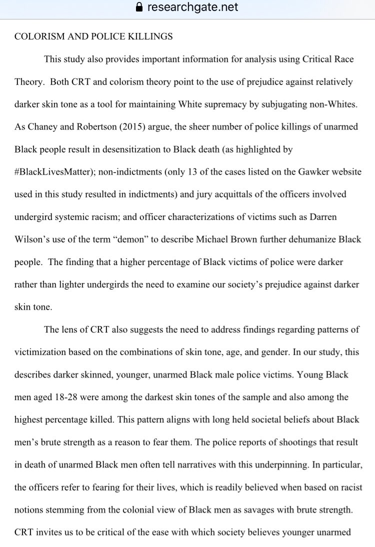 @TheGreenAlpaca @BGOnTheScene Heres more information about #policebrutality and racism in the police force https://t.co/WjenrBRcHf Awareness of these issues may be new to many folks not affected. https://t.co/pw2thiX6h0