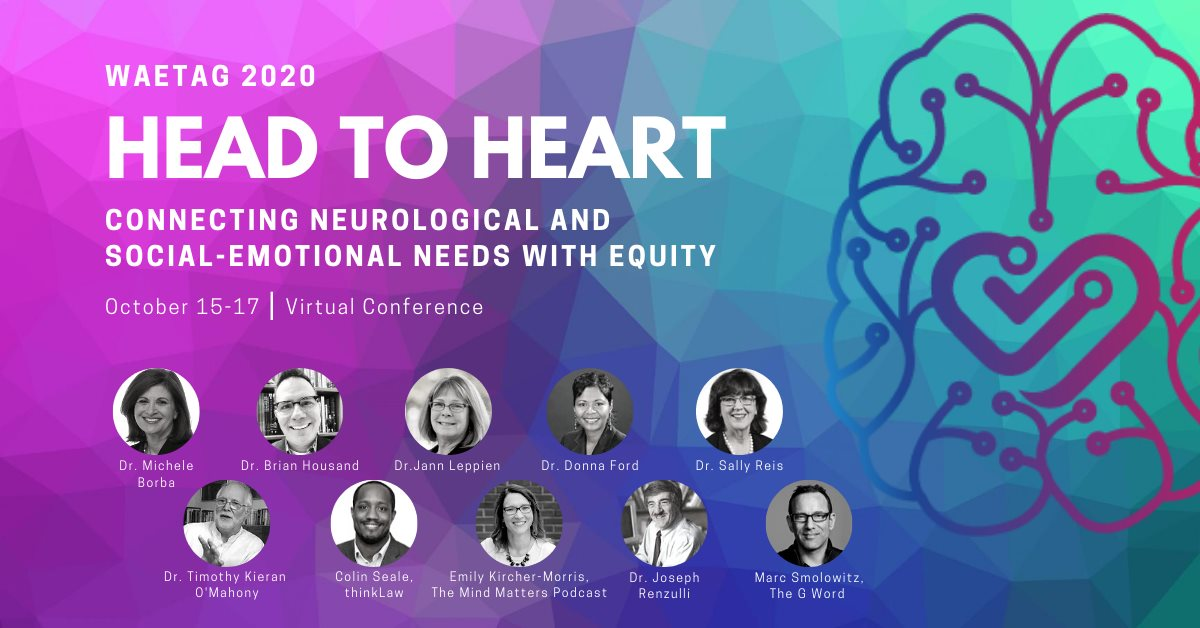 """On Oct 17th at 11:15am PT, @marcsmolowitz gives his presentation, """"Giftedness, Neurodiversity & 21st Century Storytelling: Finding Your Voice and Helping Others Do the Same in the 2020s."""" Register! 👉 https://t.co/bv6wvmRkqQ w/ @waetag #MyGiftedStory #TheGWord #gifted #gtchat https://t.co/F0WcMO9ZSt"""