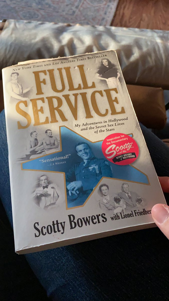 I'm still not done with it. What are you reading?? #reading #hobbies #fullservice #onehouraday #oldhollywood https://t.co/PI2ka6CQni