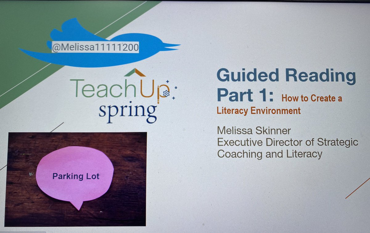 #Come join us for #GuidedReading part 1 #How to create a #Literacy #Environment @SpringISD_Curr  @TeachSpring @SISDworkforce Thursday 9/24 4:00 Don't #forget to #register in #Strive #organization #materials #resources #routines #procedures #launch #workstations https://t.co/eSKA0RZq5G