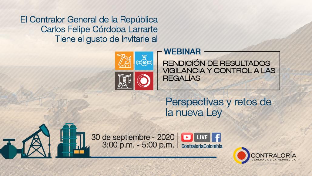 ¿Tienes dudas sobre proyectos financiados con recursos de regalías en tu departamento? Para la @CGR_Colombia #EresImportante Estaremos atentos a resolver tus inquietudes. Participa AQUÍ https://t.co/ExNjkjoGS0 https://t.co/Sx8liRpudU