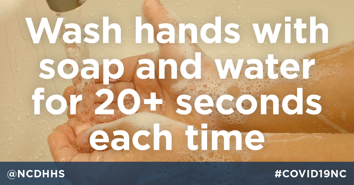 If you do NOTHING ELSE to prevent #COVID19 - WASH YOUR HANDS. #CoronavirusPandemic https://t.co/fmM1urzukr