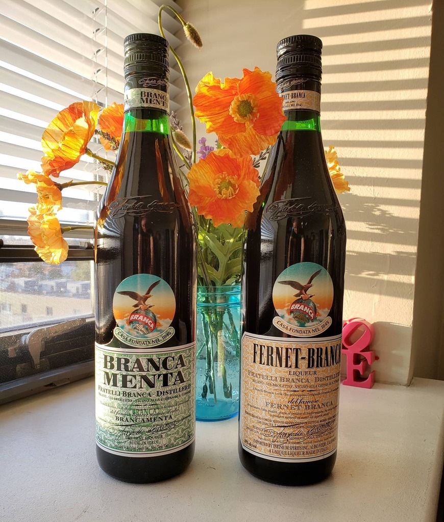 Living in PA with its rotten liquor laws, it feels special whenever we can get a different amari. Luckily, the Fernet is readily available, but the Branca Menta is a real treat. #amari #amaro #fernet #fernetbranca #brancamenta https://t.co/4rK0ce92wD https://t.co/CRXmef93Y7