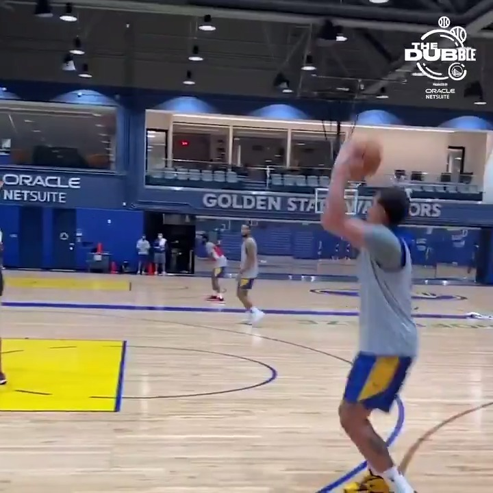 feels good to be back 🏀  The Dubble, presented by @NetSuite https://t.co/ZHSfzzvoY2