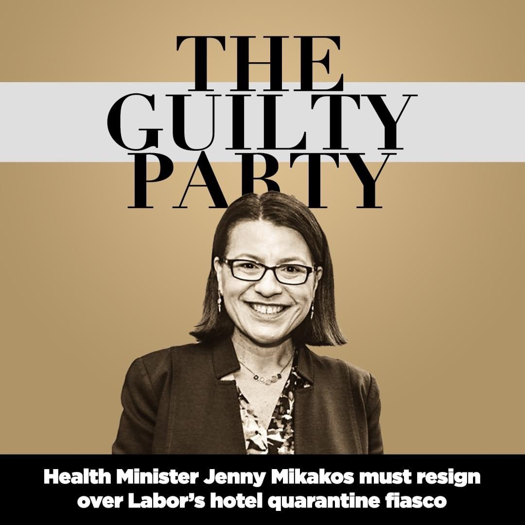 Will be interesting listening when #JennyMikakos alias #JennyMuckUp hits the Hotel Quarantine inquiry today.   I wonder if she will have #DANmnesia like the rest of them so far ... #ThisIsNotAnInquiry  Laughable #springst  👇🏼 https://t.co/NtNQz7odJw