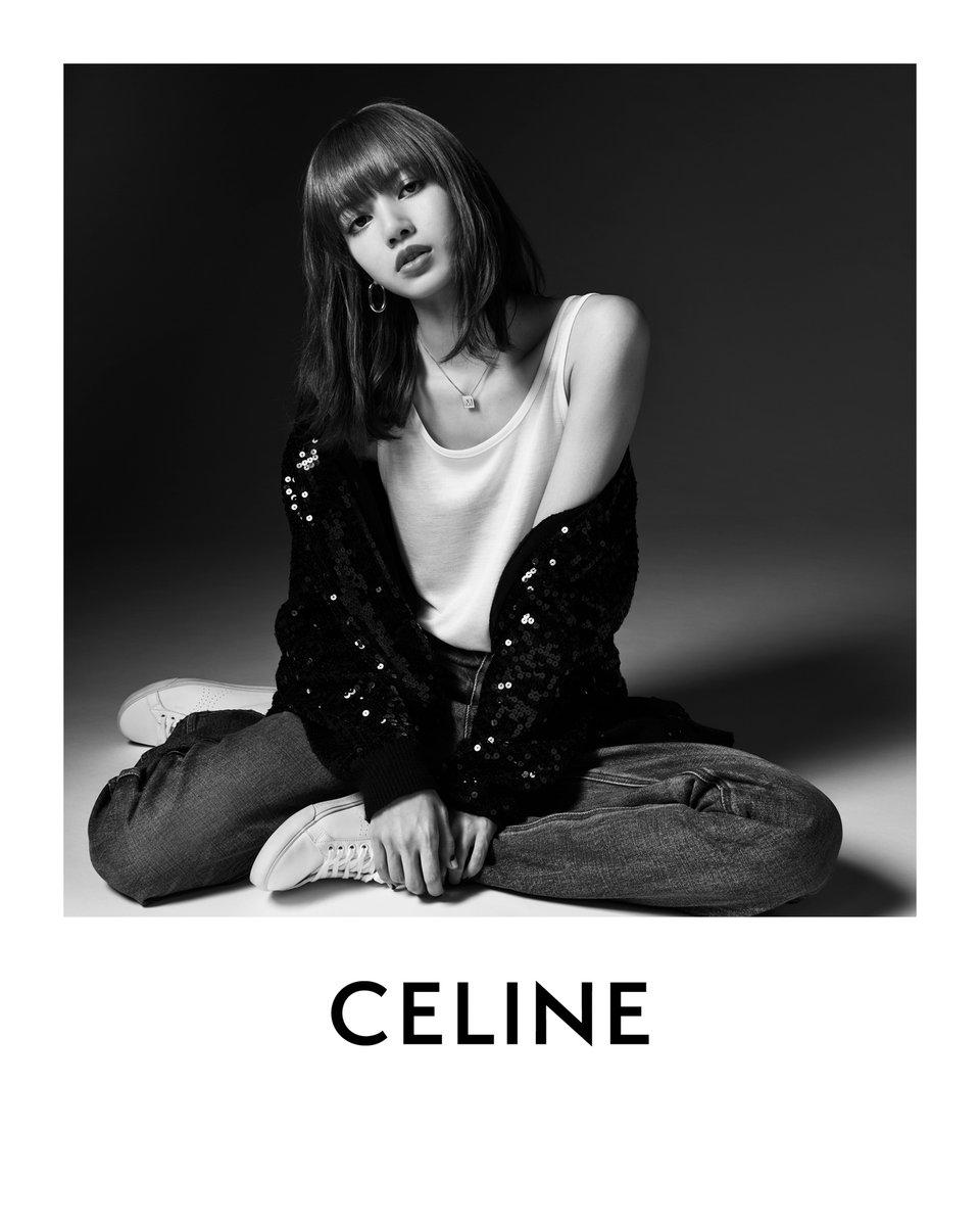 「セリーヌ」がブランド初のグローバルアンバサダーにBLACKPINKのLISAを起用しました。