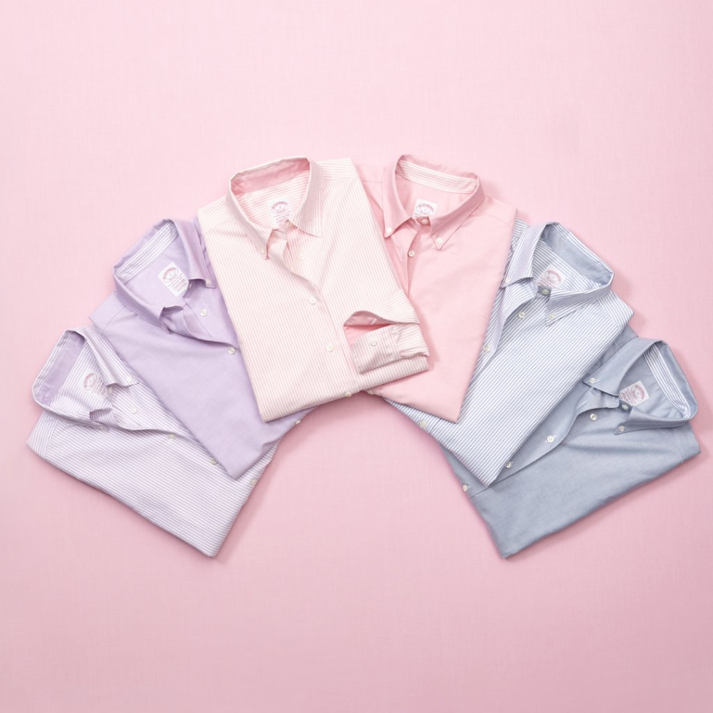 In the 1940s, a surge of interest in men's pink oxford shirts caused the smallest sizes (including boys') to disappear from BB's racks. The buying frenzy was attributed to the success of the shirt among women.  Learn more about our women's Pink Oxford: https://t.co/0J77wL5I0V https://t.co/pv4FUtbUml