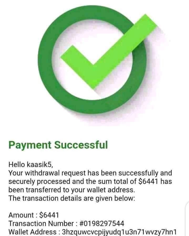 Successful withdrawals sent directly to my clients wallet account  #likes #likeforlikes #followers #likeforfollowers #instafollowers #beauty #beautyblog #beautytips #instaphoto #instaphotography #lovers #naturelovers #instalovers #bitcoin #bitcoinmining #bhfyp #money #moneymaker https://t.co/2XtTRImnnh