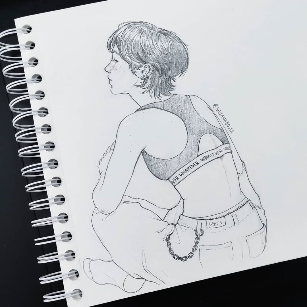 Filling the sketchbook✍️  More on my IG: https://t.co/o36CfFNSis  #art #artistsontwitter #drawing #sketchbook https://t.co/DHftC15ciB