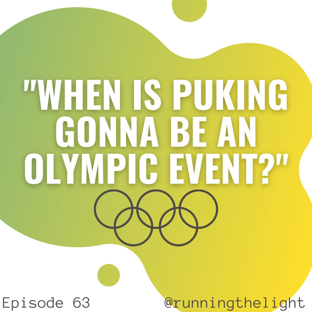 We are going for the gold 🤢🥇  #podcast #comedypodcast #comedy #Olympics #werunthelight https://t.co/L03WSlmVbw