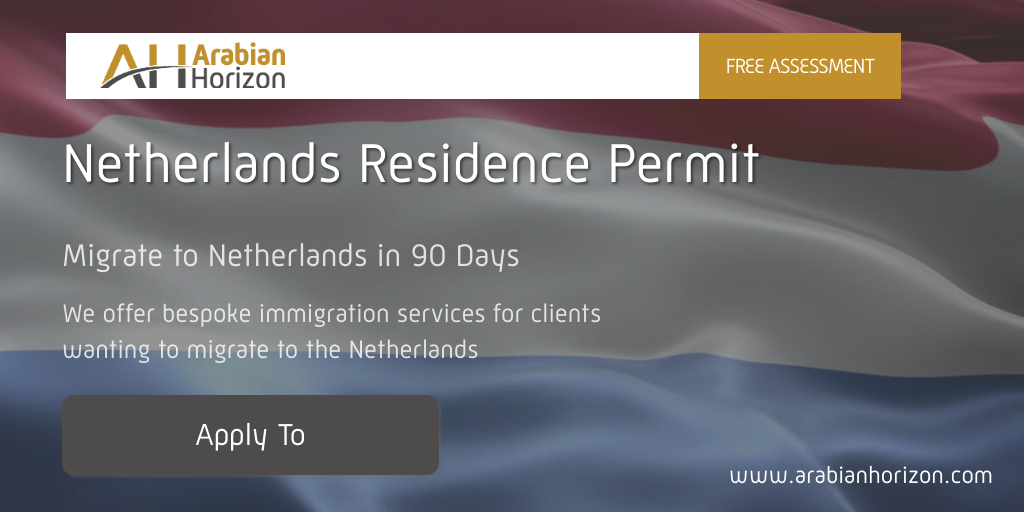 If you are looking for reliable information on how to relocate to the Netherlands: details on a residence permit and visa,  Arabian Horizon is your place of choice. We offer bespoke immigration services for clients wanting to migrate to the #Netherlands  https://t.co/rTW44GDL3e https://t.co/U1y5Dta7ol