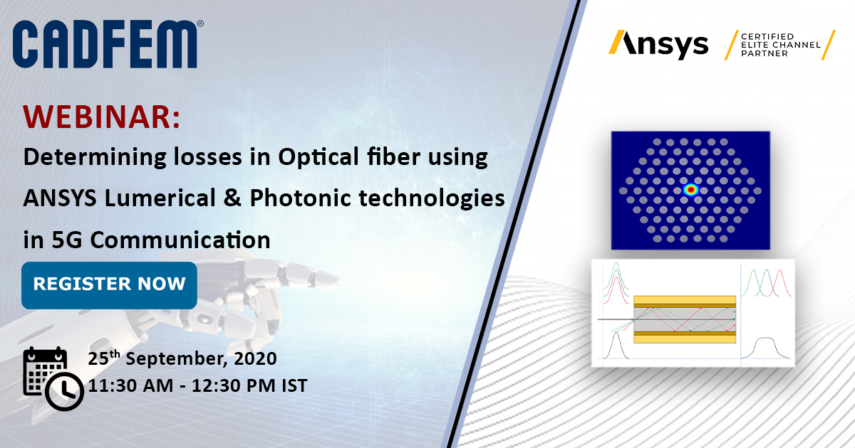 Join us for the webinar and Understand the significance of #Microwave #Photonics Simulation.  Learn about the #simulations involved with #optical #fibers such as #Attenuation, #Temperature based attenuation & more.  REGISTER NOW: https://t.co/WD1E6QEvWb #innovation #engineering https://t.co/diO6eNGNzK