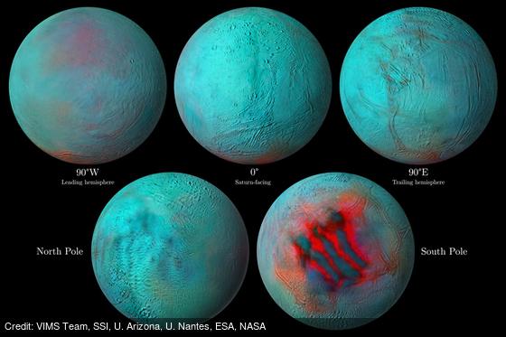 Enceladus in Infrared: https://t.co/MkFxCBgQgM by VIMS Team, SSI, U. Arizona, U. Nantes, @esa, @NASA https://t.co/qZtodvkJ24