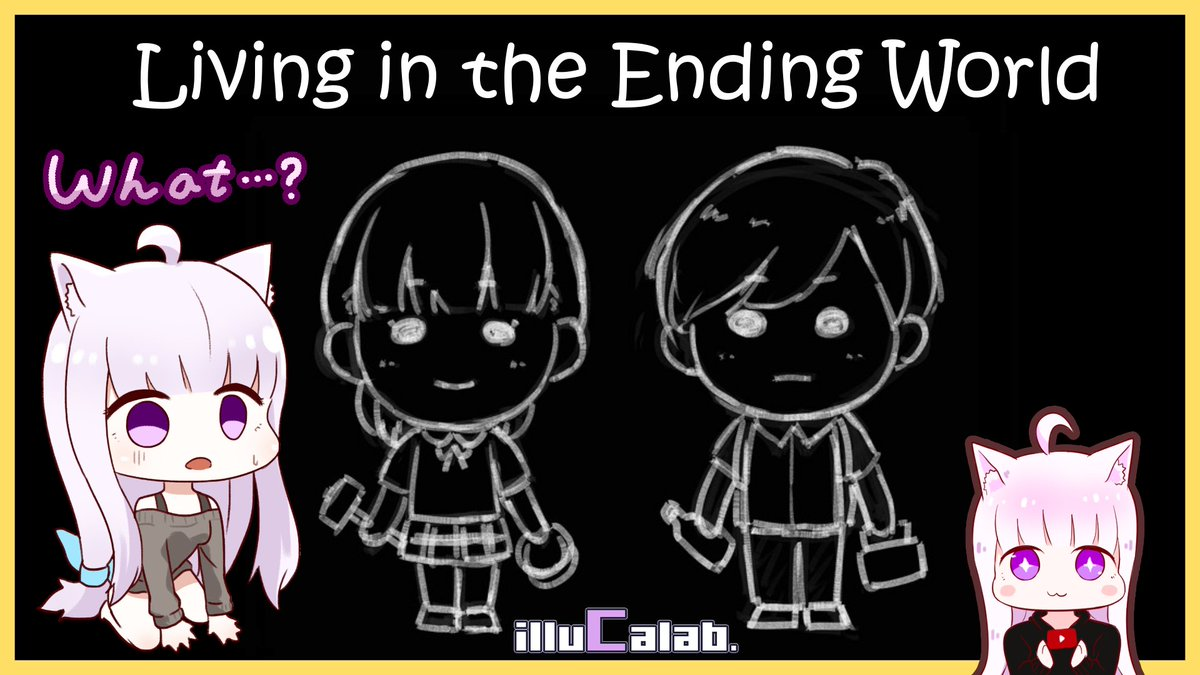 Living in the Ending World : It's A Text-Based Survival Game! (ฅ'ω'ฅ)  ✨ Let's Play : https://t.co/fJ8DB9AdIg ✨ Store Link : https://t.co/aslDD9uJbx  @Steam @sekaiproject @eiki_okuma #illuCalab #indie #experimental #終わる世界とキミとぼく #终结的世界与你和我 https://t.co/eJs72BrXFb