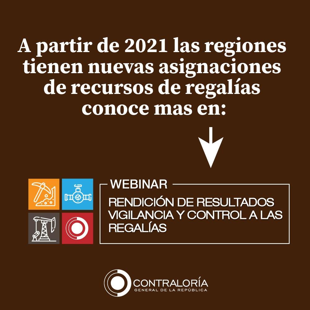 ¿Tienes dudas sobre proyectos financiados con recursos de regalías en tu departamento? Para la @CGR_Colombia #EresImportante Estaremos atentos a resolver tus inquietudes. Participa AQUÍ https://t.co/61bSTwptV7 https://t.co/6PsKuMnuOU