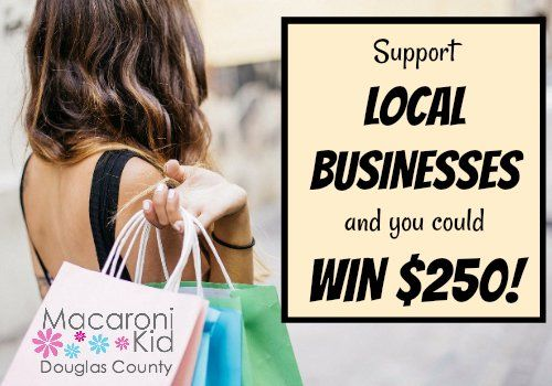 Support #Douglas CountyCO Businesses and You Could Win $250! Just ONE WEEK LEFT in our #contest! Spend $25 at a participating local business and send us your receipt by September 30 for a chance to win! Visit https://t.co/uzSfU0P1Xu to learn more. https://t.co/8ylLzC2vaz