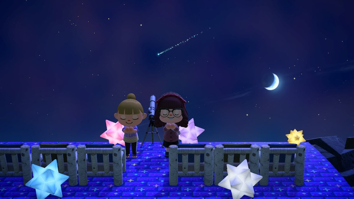 #stars #friends #AnimalCrossing #ACNH #NintendoSwitch https://t.co/eA13dryPCO