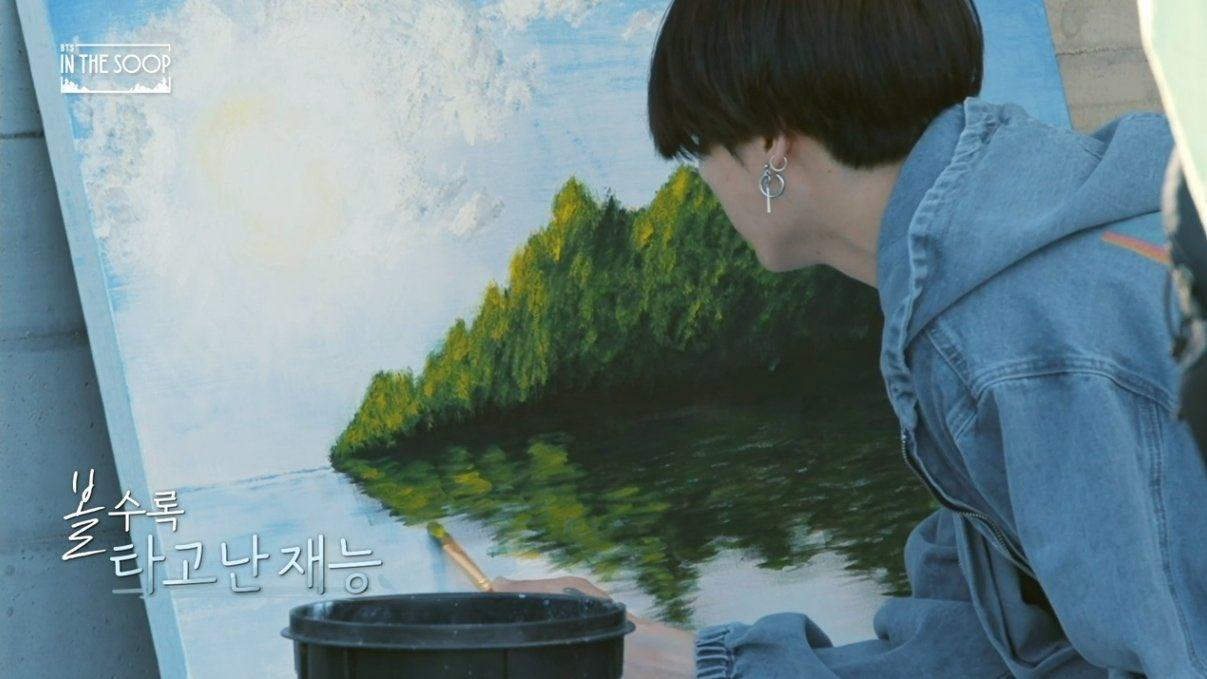 Jungkook - BTS In The Soop จองกุกวาดรูป