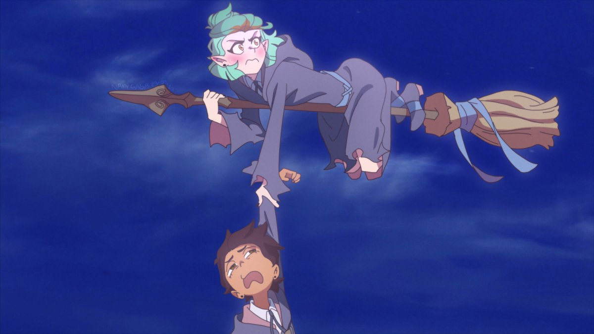 Namy Gaga On Twitter Little Witch Academia The Owl House Crossover 2 Littlewitchacademia Theowlhouse Crossover Fanart Namygaga Theowlwitchacademia Download 4k Drawings Here Https T Co Geqzuohjs8 Https T Co Lya09tj4lv