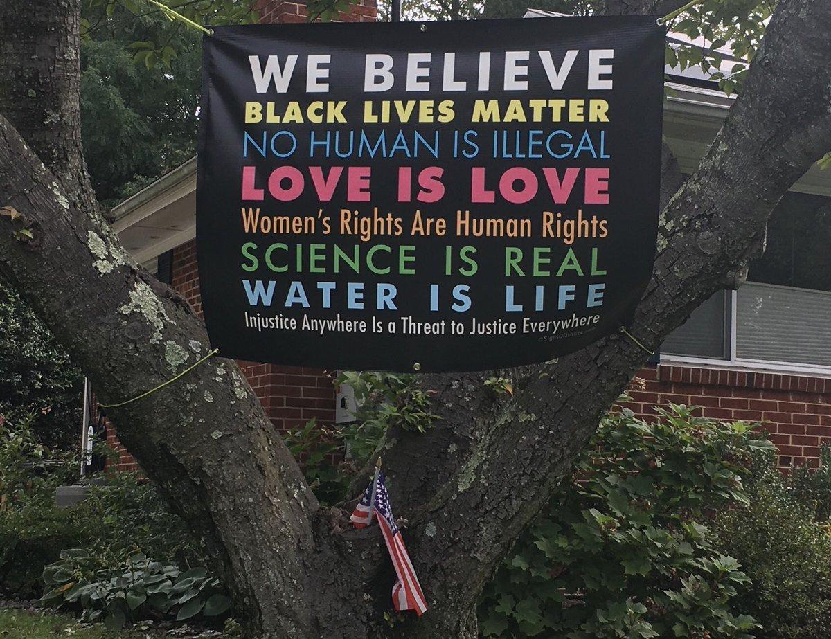 'Nuff said.  #coexist #blacklivesmatter #loveislove #nohumanisillegal #womensrightsarehumanrights #scienceisreal #waterislife💧 #injusticeanywhereisathreattojusticeeverywhere https://t.co/cjPAeBljUR