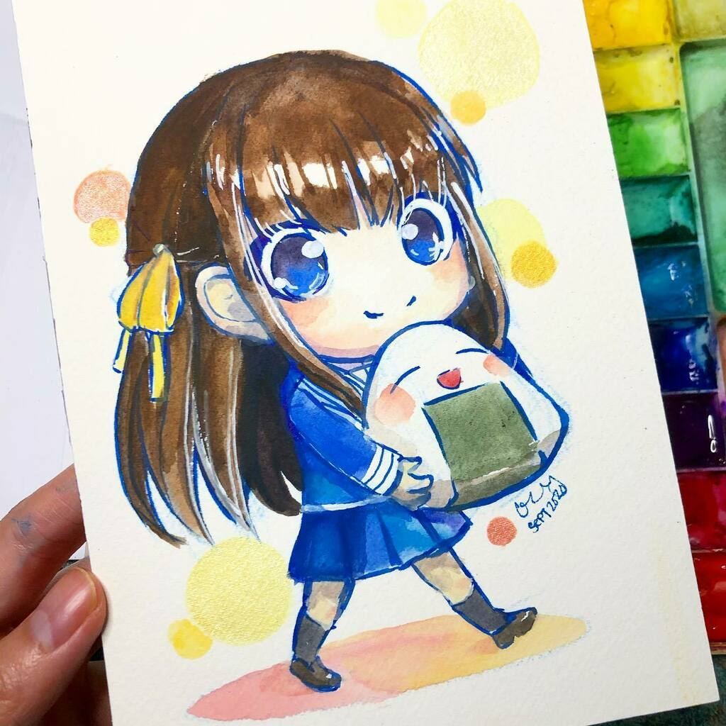 The happiest rice all ever! I aspire to live life brimming with happiness and no cares in the world like that riceball.  Tohru drawing is for @werdo333 and @that_one_artist_nrae   #cindydraws #art #drawing #Fanart #anime #manga  #tohruhonda #tohru #fruit… https://t.co/1zu0GOWEag https://t.co/11Lo3a4U4Y