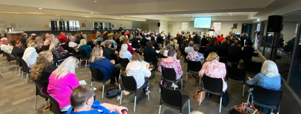 FULL HOUSE • for the #CommunityResourceCentre Network Conference in #Northam! Local leaders from all over the State are here to talk about the role of CRC's and how they can support, enhance and inspire their communities.   #RoyaltiesforRegions #CRC #agentsofchange #regionalWA https://t.co/WhSOg4PARR