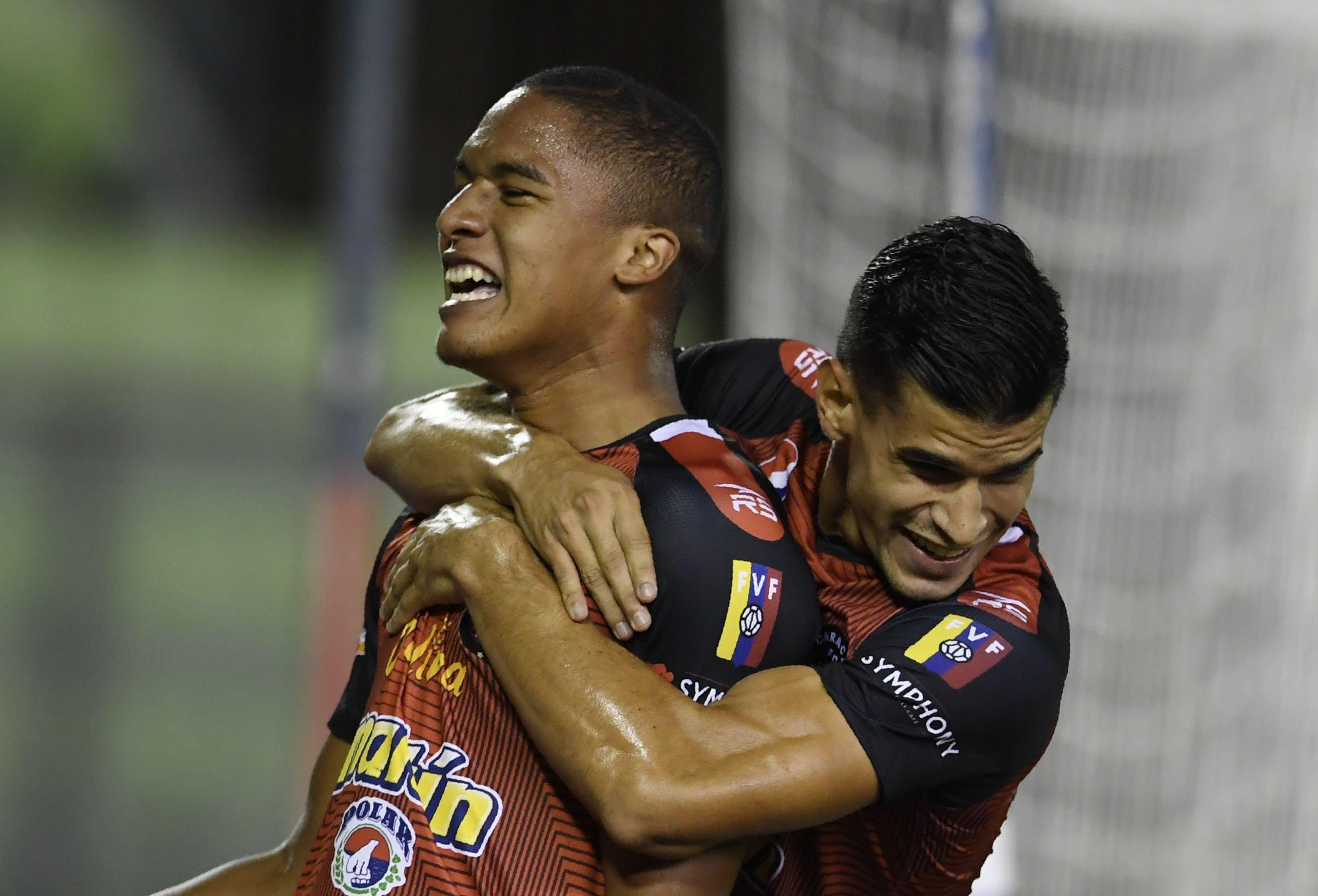 Caracas FC vence a Libertad