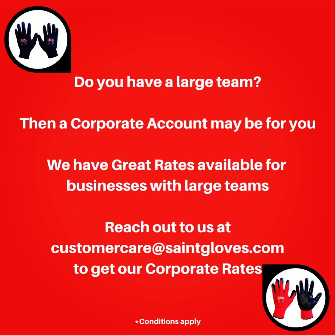 We now have Corporate Rates available for Organisations with large demands for Work Gloves  #3pl #builders #concrete #construction #demolition #ecommerce #Engineering #excavation #landscape #logistics #manufacturing #SupplyChain #theblock #tools #Trade #transport #warehousing https://t.co/3S5N53cGyP