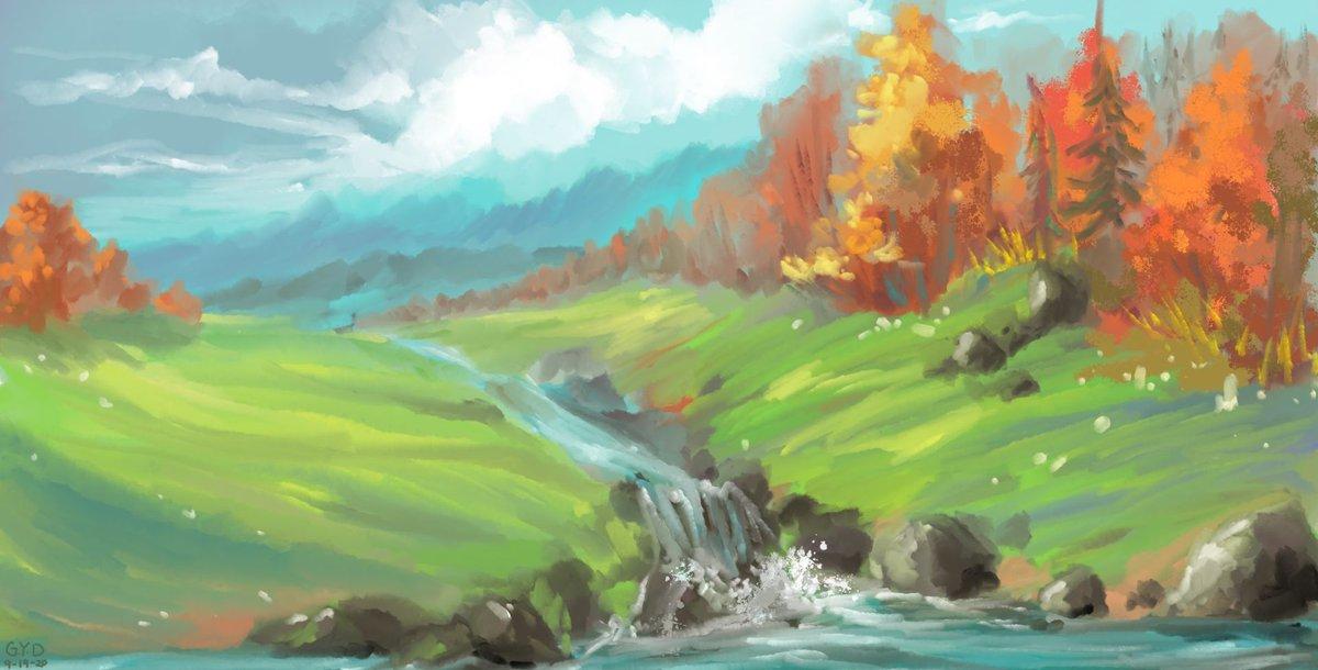 Autumn Returns via /r/ImaginaryLandscapes https://t.co/3inkrTfbQn #Art https://t.co/iyinY2bzlM
