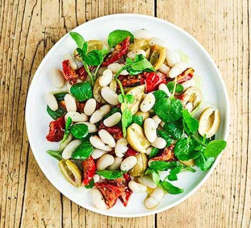 Bean, tomato & watercress salad #glutenfree #vegetarian #vegan #seasonal #recipe https://t.co/gSOCZh9aAd https://t.co/QcuRbkrbHL