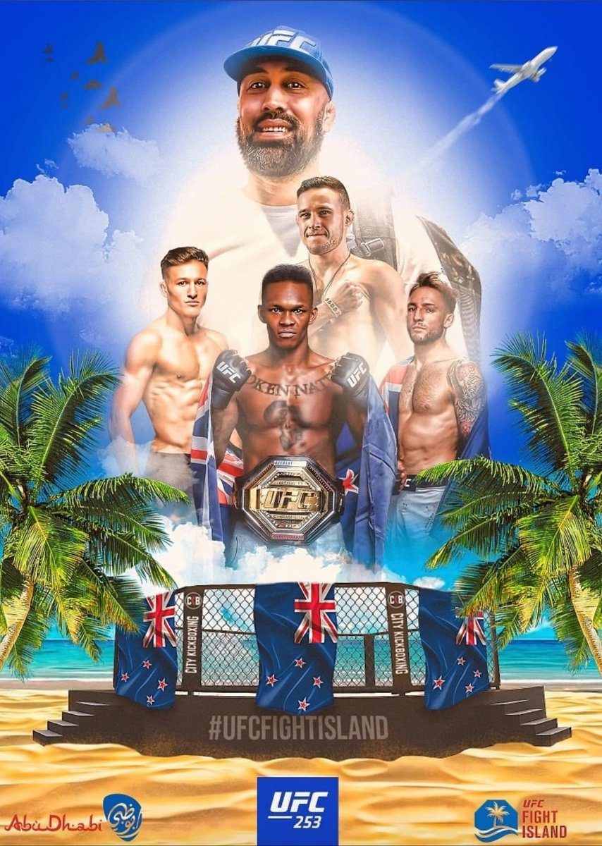 This weekend we do the 4 peat! 🇳🇿  #UFC253 https://t.co/vcS7FKGn0U