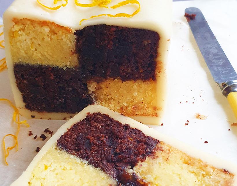 How to Make a Chocolate Orange Battenberg Cake https://t.co/GjW5PV83oH #vegan https://t.co/Z0Z4h2erfa