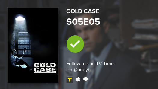 I've just watched episode S05E05 of Cold Case! #coldcase  #tvtime https://t.co/ZrbqjmSYGn https://t.co/Z7BgcNeWNW