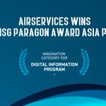 Image for the Tweet beginning: Airservices 'digital twin' technology wins