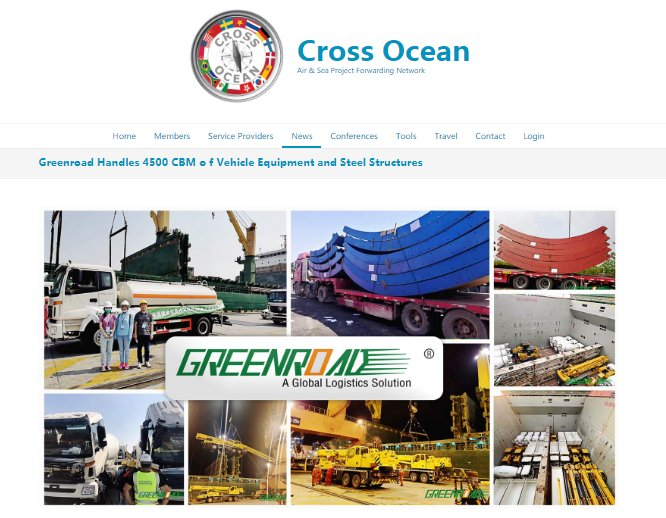 The Cross Ocean report:  Greenroad handles 4500 CBM of vehicle equipment and steel structures to Georgia smoothly.  What challenges did they encounter? And how did they overcome them? Please click the link to find more details: https://t.co/2e7G6W205Z #Greenroad #logistics https://t.co/SJCuER3Ti1