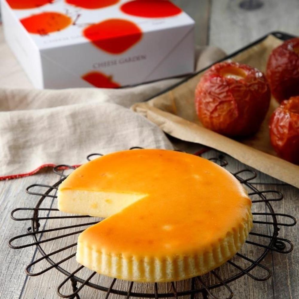 チーズガーデン秋冬限定「御用邸あっぷるチーズケーキ」たっぷりりんご果肉×濃厚チーズ -