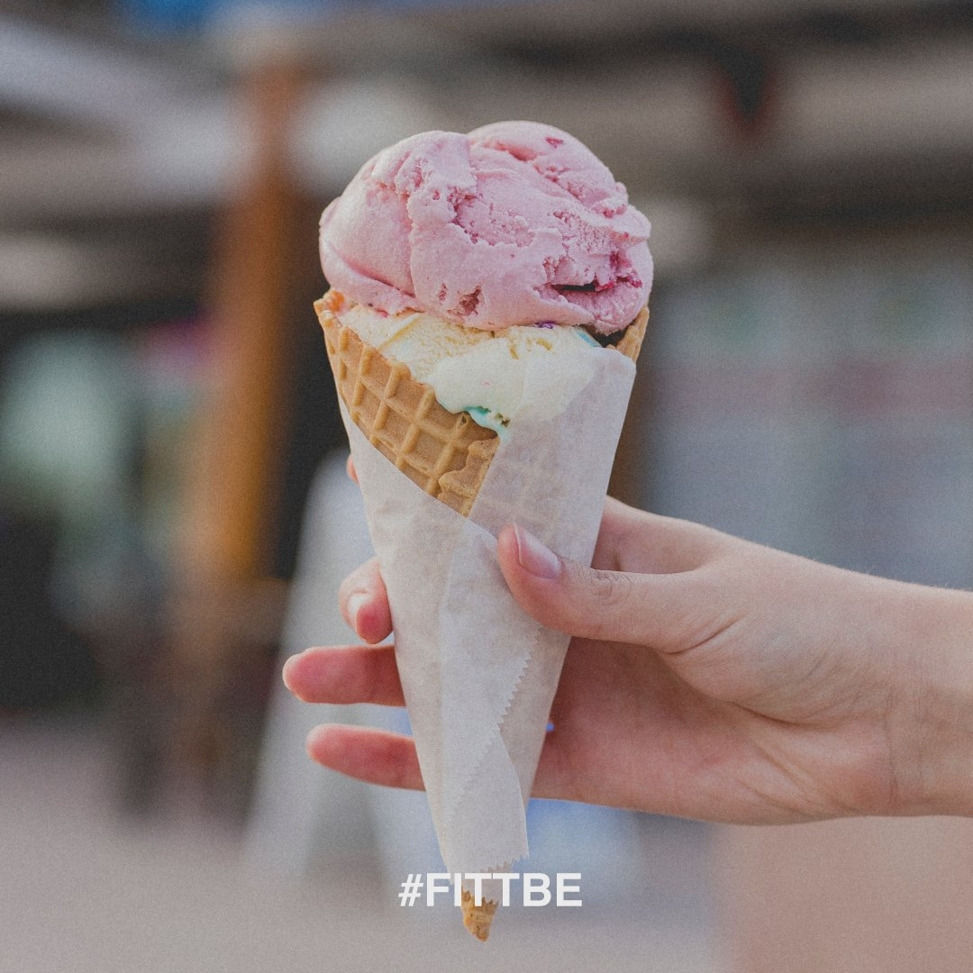 It's Called Balance and at #Fittbe we are all for it! #IceCream #SelfCare #Enjoy 🙌🙌https://t.co/YpVuitAFyG https://t.co/WEgpu4UQNl