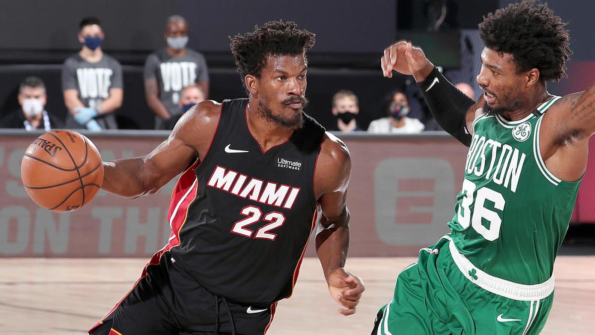 ¡Miami pone la serie 3-1!🔥  El #Heat logró su tercera victoria ante los #Celtics por un marcador de 112-109. Se pone a solo una victoria de ser el CAMPEÓN de la Conferencia #Este.  El juego decisivo será el próximo viernes. ¿Boston podrá levantarse? https://t.co/PqE8a8NZBv
