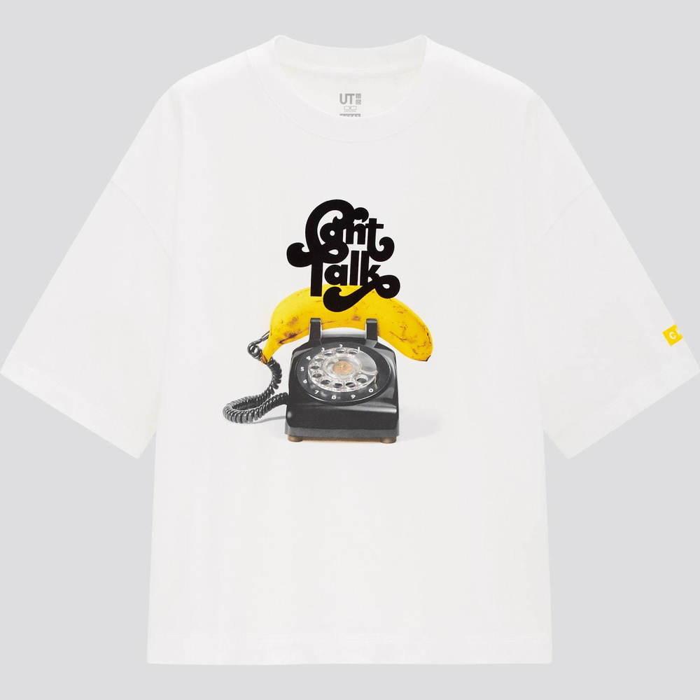 """ユニクロUT""""女の子たちのおしゃべり""""を配したTシャツ&パーカ、ロンドン発「カオス」とコラボ -"""