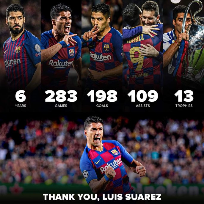 Luis Suarez for Barcelona 🙏 #Suarez #Barca #Barcelona #Atleti #AtleticoMadrid https://t.co/1FJJWNEN2l
