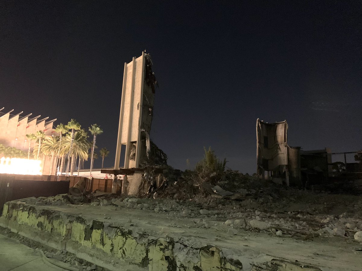 What's left of the original Los Angeles County Museum of Art Photo taken by Gary Baseman