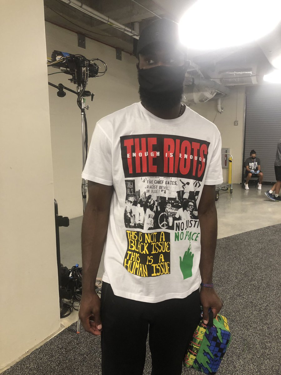 """Jaylen Brown's shirt: """"This is not a Black issue, this is a human issue."""""""