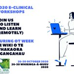 Image for the Tweet beginning: OT Week and e-Clinical Workshops