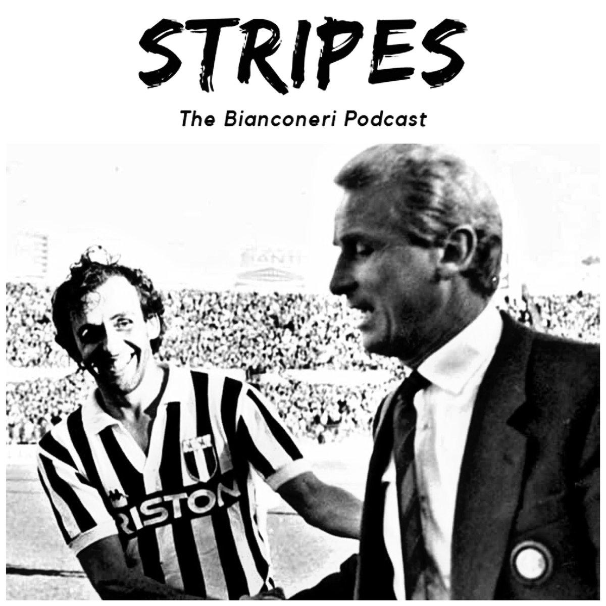 Yes Michel...Stripes will be back tomorrow!!! If u love Juventus u need to follow @thestripespodcast   #juve #juventus #finoallafine #finoallafineforzajuventus #forzajuve #forzajuventus #seriea #soccer #calcio #adp10 #CR7 #pirlo #jbworld #radiobianconera https://t.co/Py7LiiCHp1