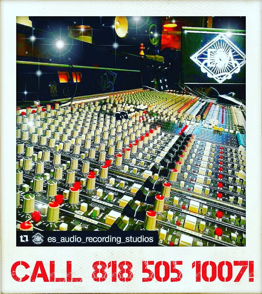 #ESAudio🎶 #RecordingStudio in #LosAngeles,#CA🌴 is #OPEN #Online during the #COVID19😷 Era!👍  Call 818 505 1007📞 to Schedule an Online #Mixing #Session or Ask about our #OnlineClasses Today!😃  Thanks & Have a #Rock'n Week!😎  #Bands #Podcast #Singers #Drums #Post #VoiceOvers https://t.co/T5pUEzvcXt