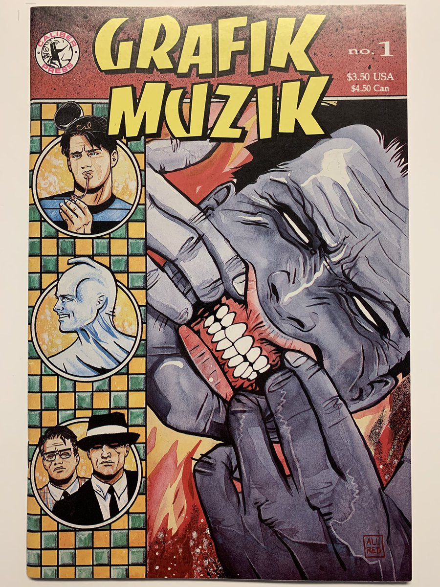 I believe after that came @AllredMD's GRAFIK MUZIK and GRAPHIQUE MUSIQUE series. I found the -IKs but could never track down the -QUEs. Frank Einstein, G-Men From Hell, Dr Boiffard, I think The Cheetah, and of course eyeballs. Pure, unadulterated wackiness! https://t.co/Pdr4s7dDkM