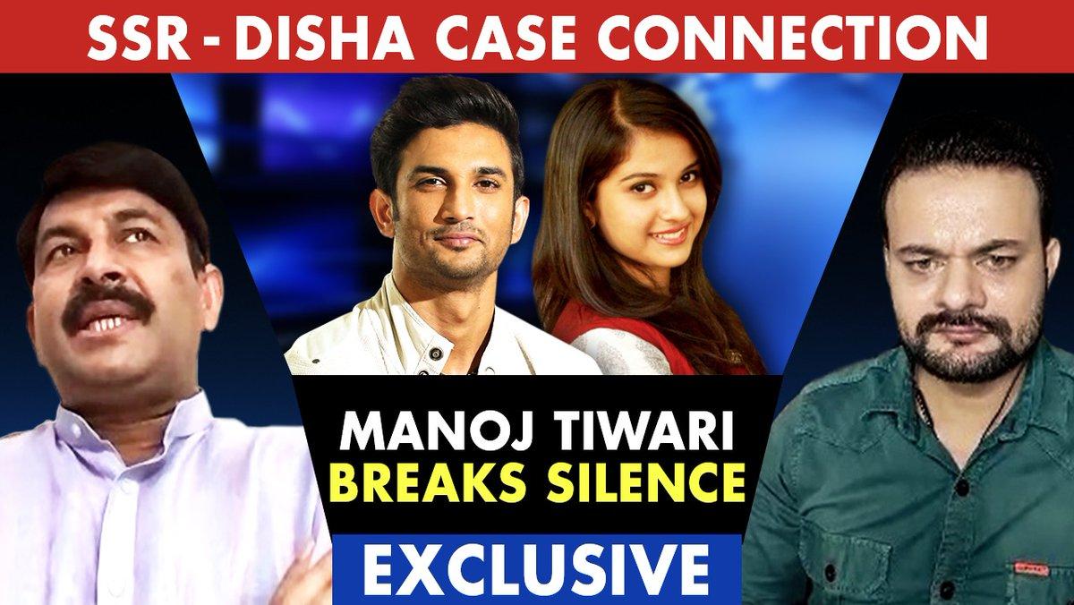 Actor, Singer, & BJP Leader @ManojTiwariMP  spoke exclusively with @ashishtiwaritv of us sharing his views on #SushantSinghRajput Case and #Bollywood #Drug Nexus, revealed What Mr. KK. Singh told him when he went to meet the Family in Patna.  Watch - https://t.co/LtgD2ZTYCd https://t.co/gPdEm7u9Ko