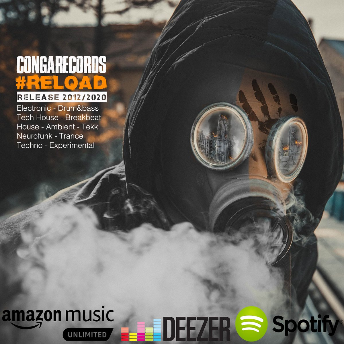 Congarecords release 2012 / 2020 playlist.  Listen on Spotify,Deezer and Amazon music  Congarecords #reload   #electronicmusic #drumnbass #neurofunk #house #congarecords #spotify #reload #edm #experimental #playlist #release #electronicmusic #amazonmusic #deezer https://t.co/Jny0zAqfxP