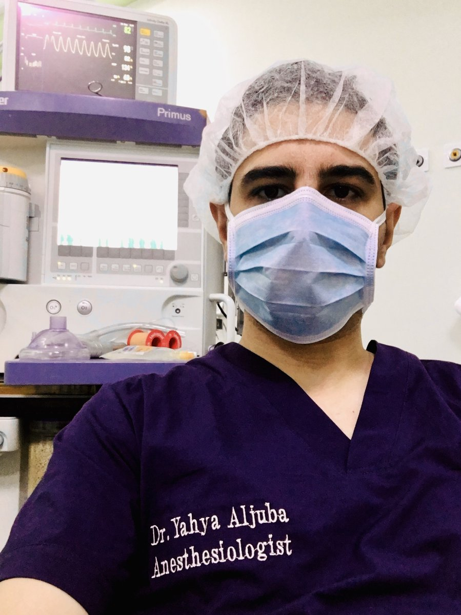 Another awesome day! Being an #anesthesia #resident is a dream which came true. Let the neuroanesthesia list begin 🙏🏻 #anesthesiologist #MedTwitter # https://t.co/fvxL5Rd4DQ